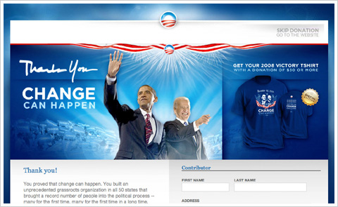 Barack Obama Official Site