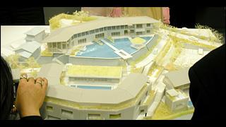 レジェンドホテル 外観模型