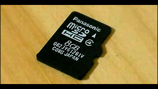 microSD カード