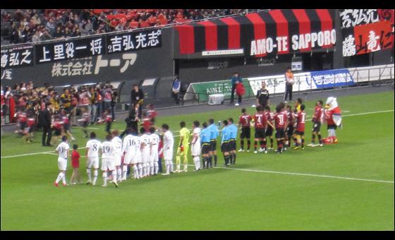 2010年 J2 第38節 コンサドーレ札幌 vs. ロアッソ熊本 01