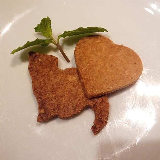 大豆粉の低糖質クッキー