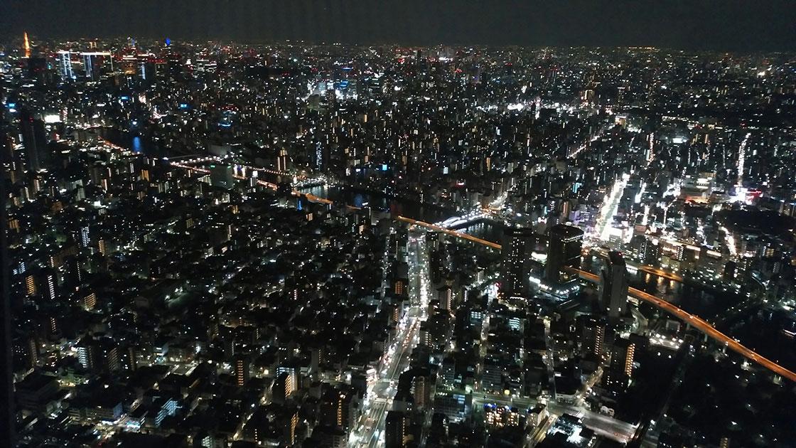 東京スカイツリー天望デッキ